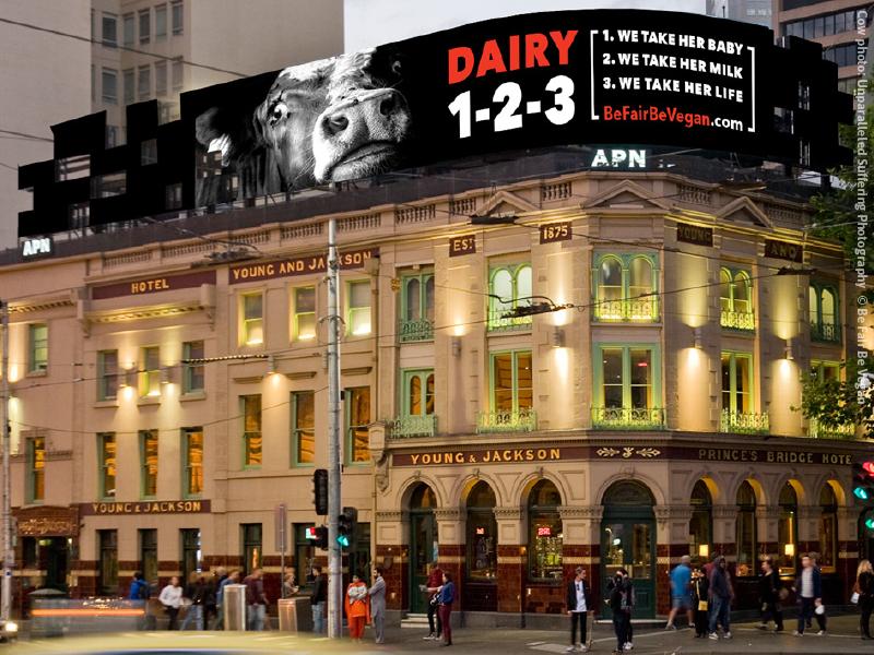Be Fair Be Vegan Melbourne Campaign