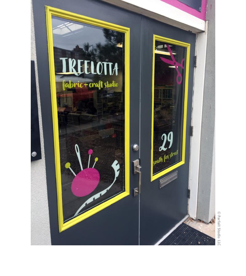 Treelotta Storefront Signage
