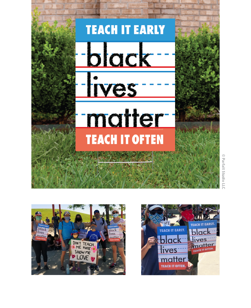 Black Lives Matter Yard & Protest Signs